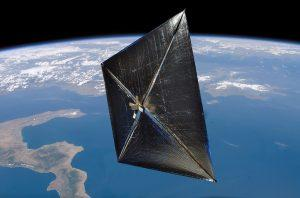 LightSail  photo: http://aboutrenewableenergy.com